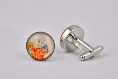 Alice In Wonderland Cufflinks