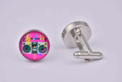 Beat Box Cufflinks
