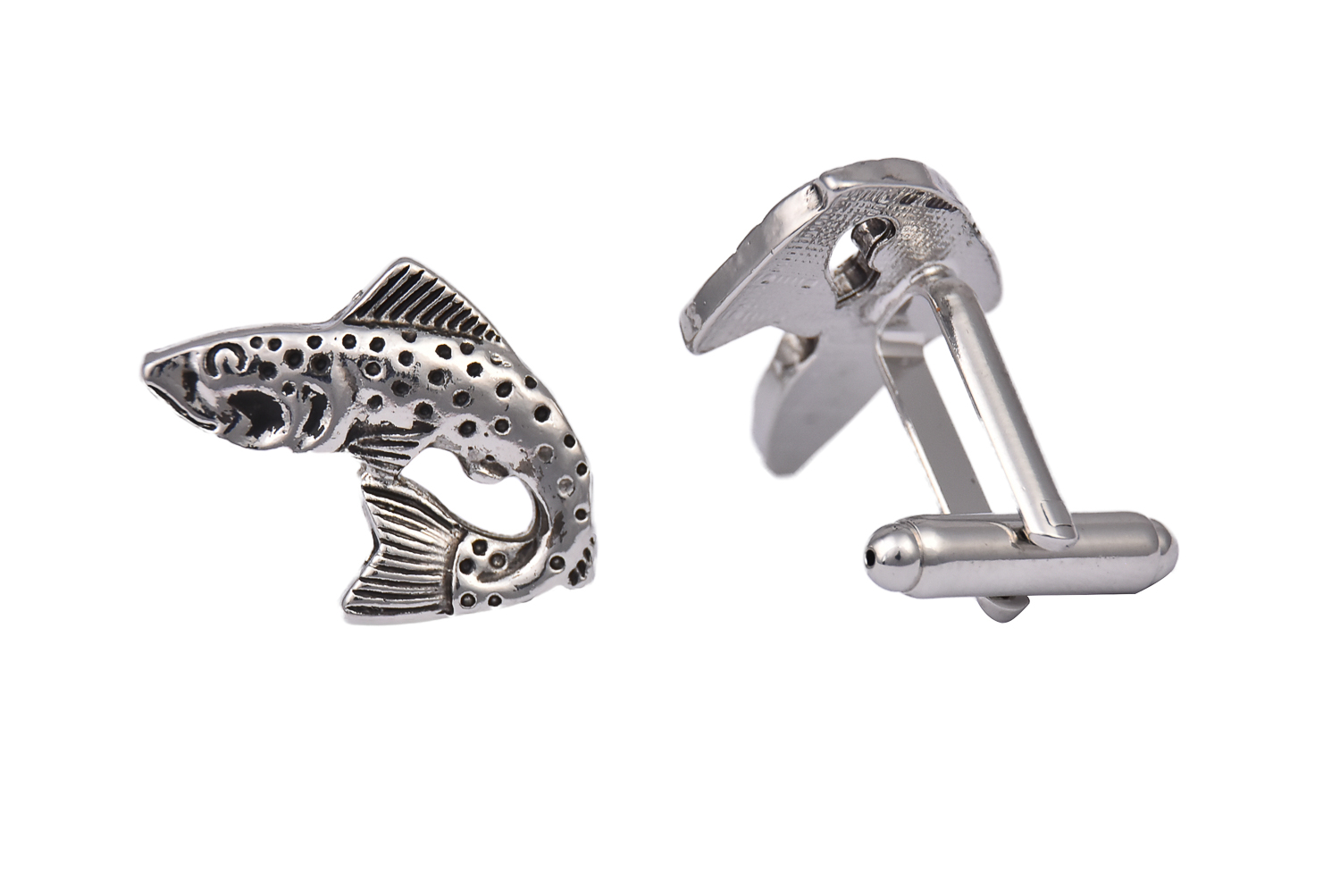 Fish Trout Cufflinks