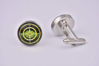 Golden Compass Cufflinks