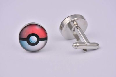 Pokemon Ball Cufflinks