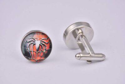 Superhero Spiderman Cufflinks