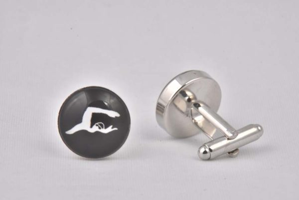 Swimming Cufflinks