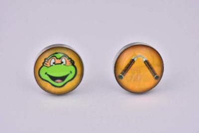 Teenage Mutant Ninja Turtle Michelangelo Cufflinks