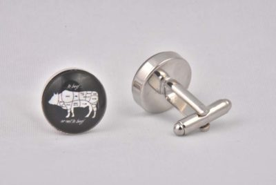 To Beef Or Not To Beef Cufflinks