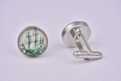 Vintage Ship Cufflinks