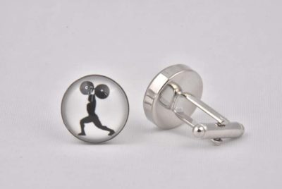 Weightlifter Cufflinks