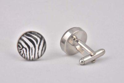 Zebra Stripes Cufflinks