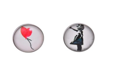 Banksy Balloon Cufflinks
