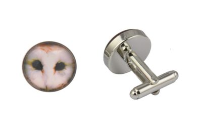Barn Owl Cufflinks