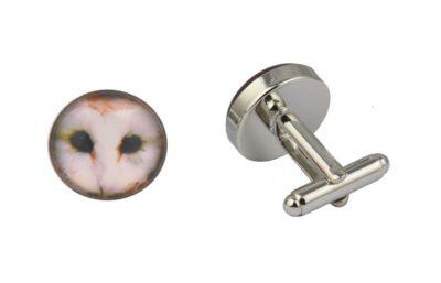 Barn Owl Cufflinks