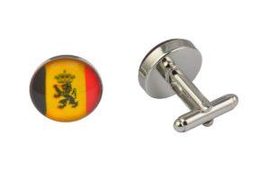Belgium Flag Cufflinks
