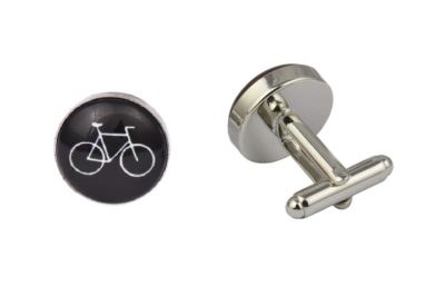Black Bicycle Cufflinks
