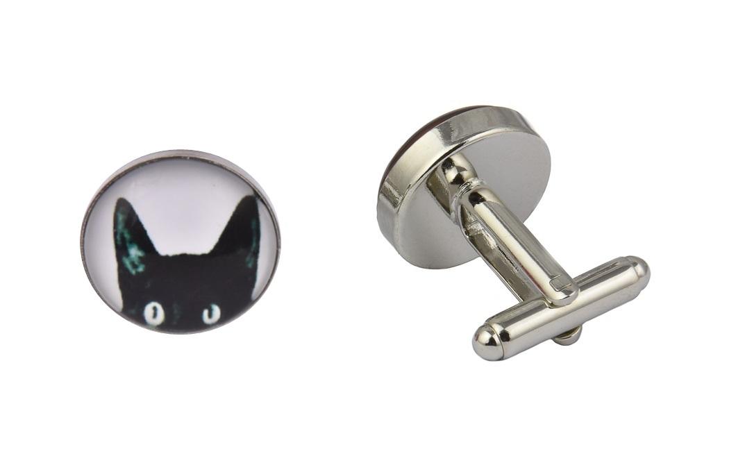 Black Cat Cufflinks
