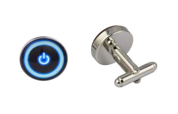 Power Button Computer Cufflinks
