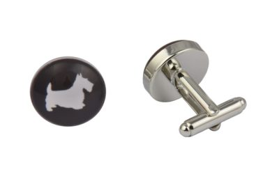 Scottish Terrier Dog Cufflinks