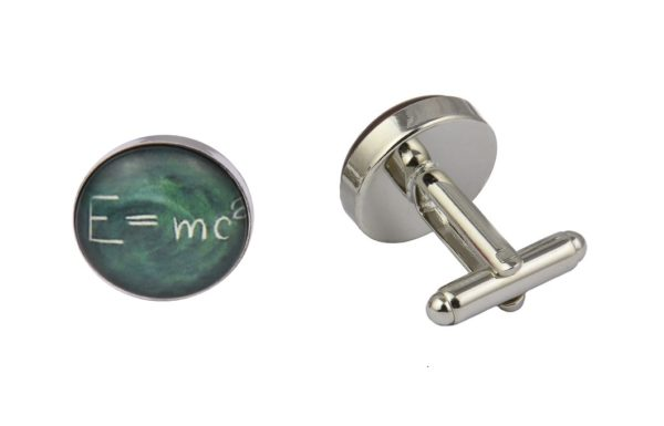Albert Einstein Maths Cufflinks