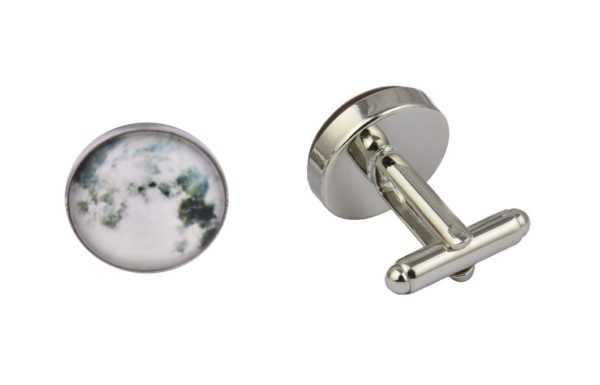 Full Moon Clouds Cufflinks