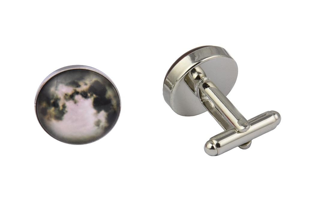 Steampunk Full Moon Cufflinks