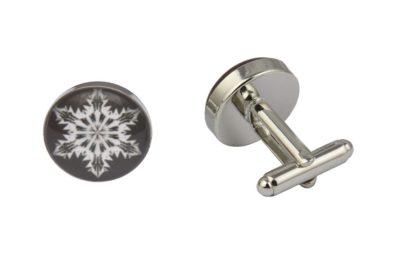Funky Snowflake Cufflinks