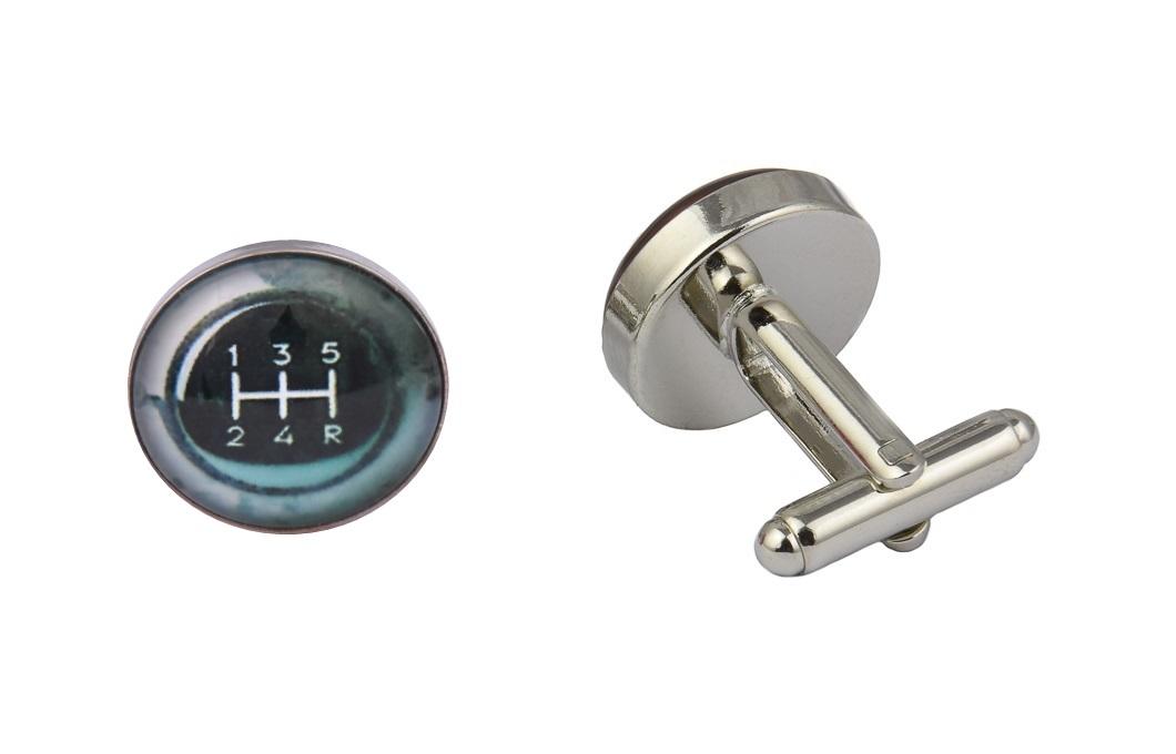 Gear Stick Cufflinks