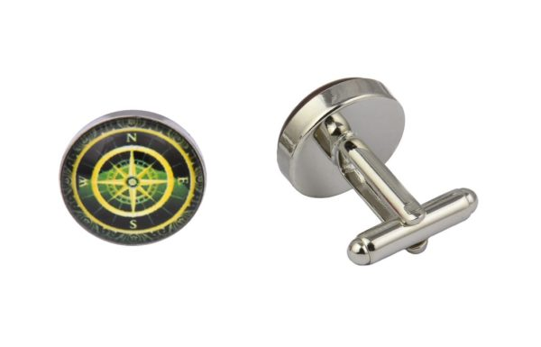 Golden Compass Cufflinks