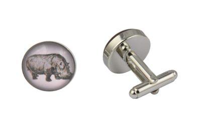 Hippo Cufflinks