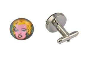 Marilyn Monroe Cufflinks