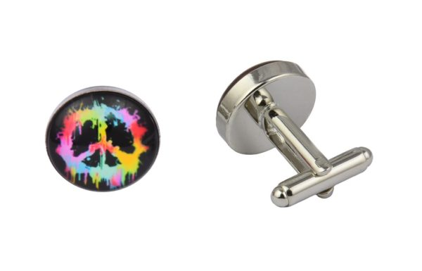 Colourful Peace Cufflinks