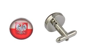 Poland Flag Cufflinks