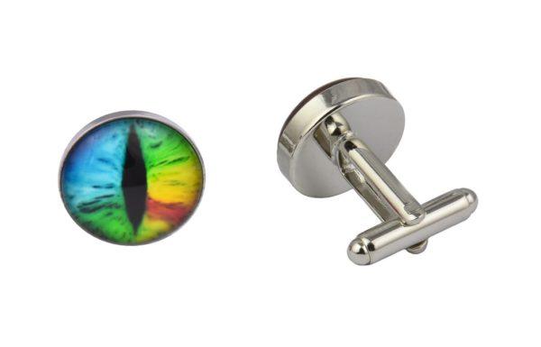 Rainbow Eye Cufflinks