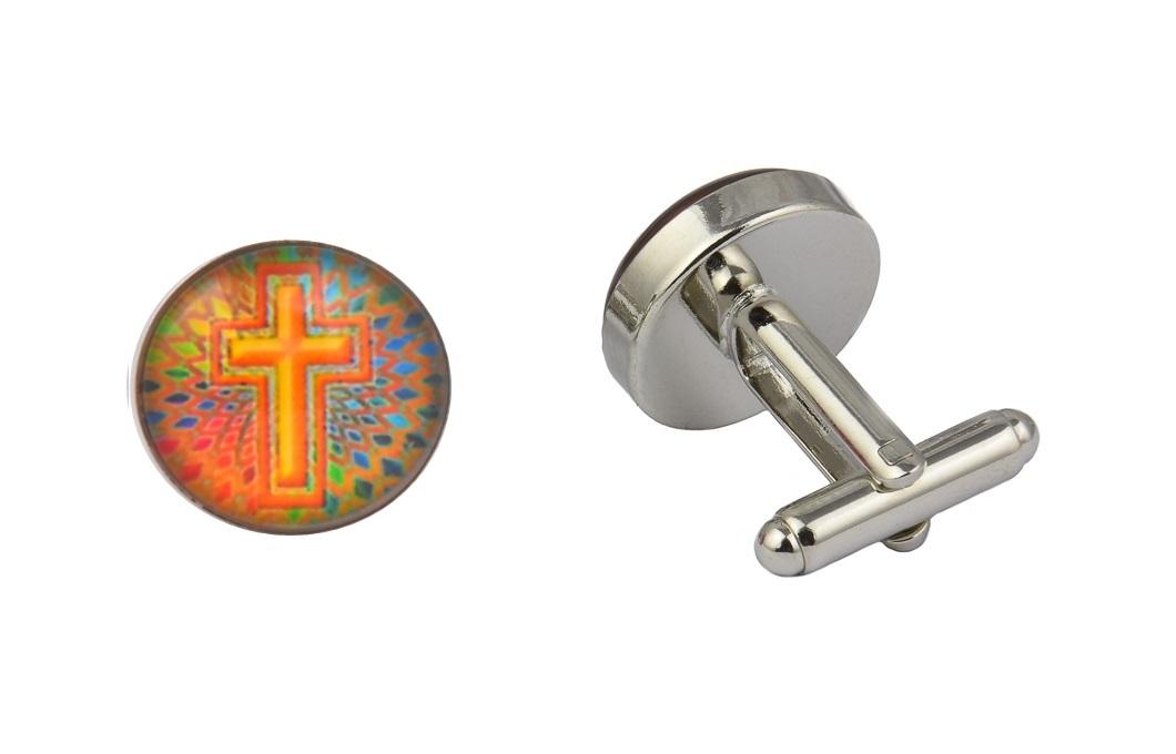 Religious Cross Cufflinks