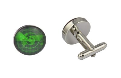 Ship Radar Cufflinks