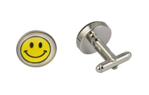 Smiley Face Cufflinks
