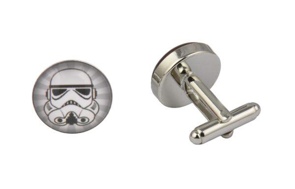 Star Wars Grey Storm Trooper Cufflinks