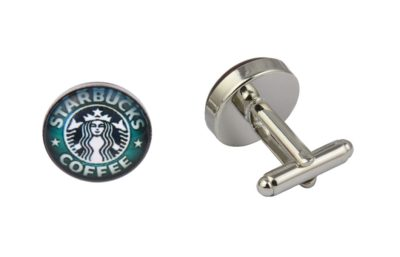 Starbucks Logo Cufflinks