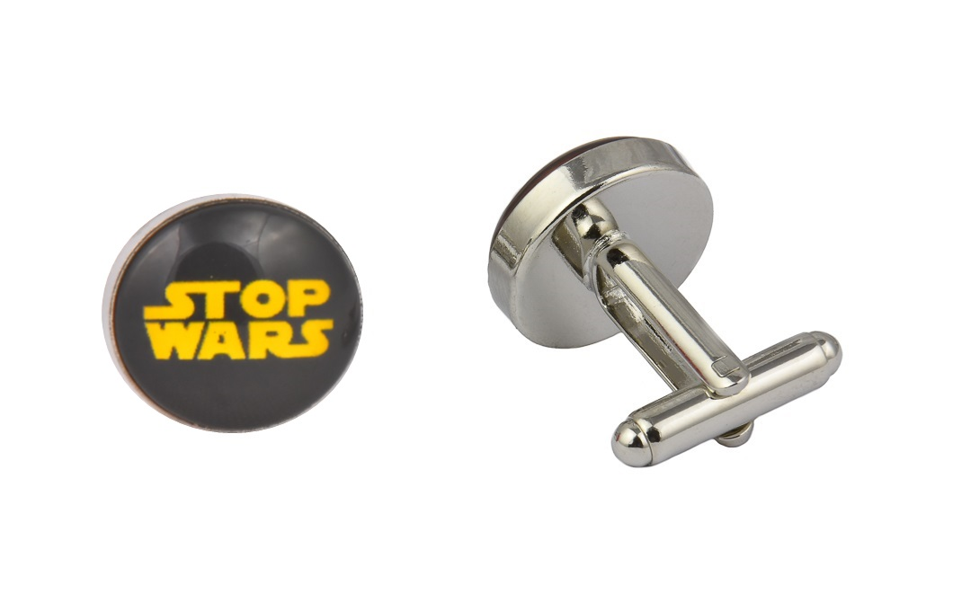 Stop Wars Cufflinks