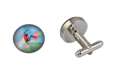 Colourful Surfer Cufflinks