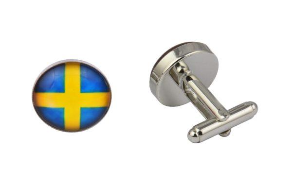Sweden Flag Cufflinks