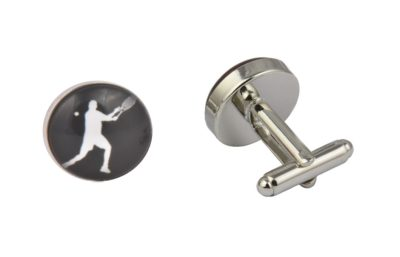 Tennis Player Cufflinks