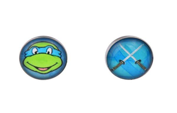 Teenage Mutant Ninja Turtle Leonardo Cufflinks