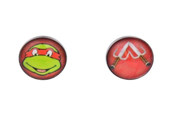 Teenage Mutant Ninja Turtle Cufflinks Red Raphael