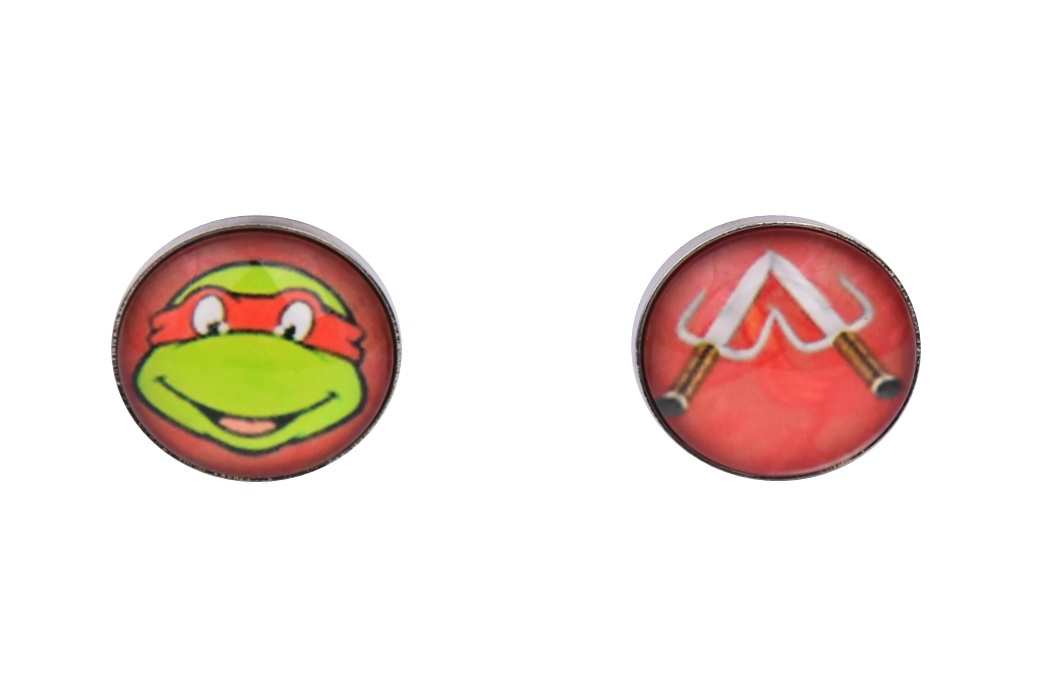 Teenage Mutant Ninja Turtle Cufflinks Red Raphael
