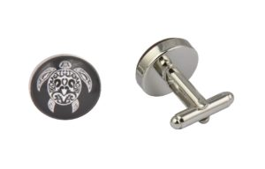 Tribal Turtle Cufflinks
