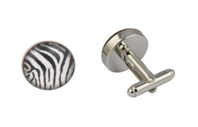 Zebra Stripes Cufflinks