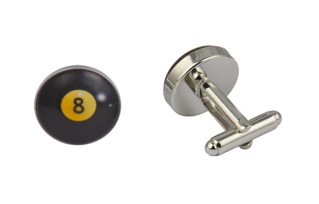 8 Ball Cufflinks