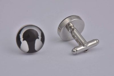 Headphones Cufflinks