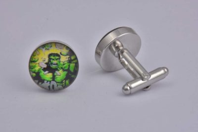 Hulk Smash Cufflinks