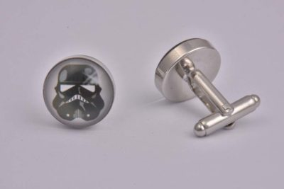 Star Wars Storm Trooper Art Cufflinks