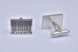 Barcode Cufflinks